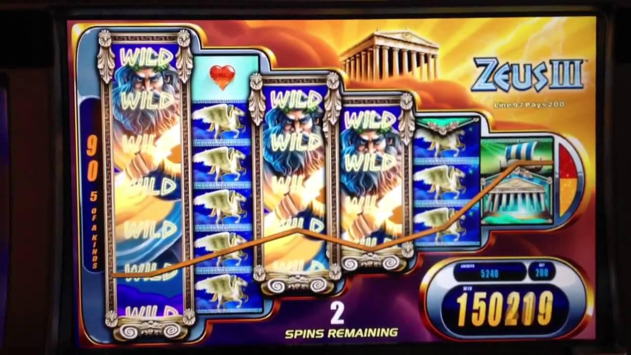 Spill spilleautomaten Zeus fra WMS gratis på nett