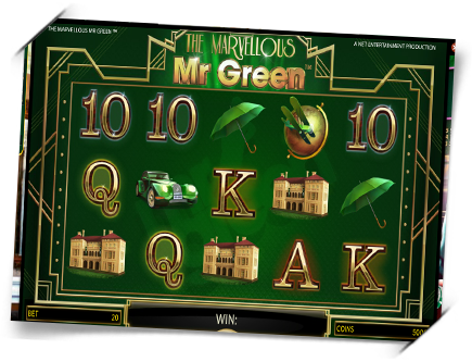 the marvellous mr green front