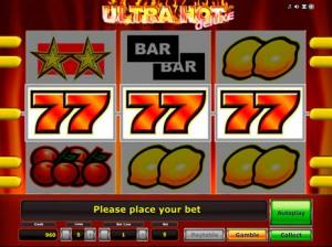 Игровые автоматы Ultra hot deluxe максима